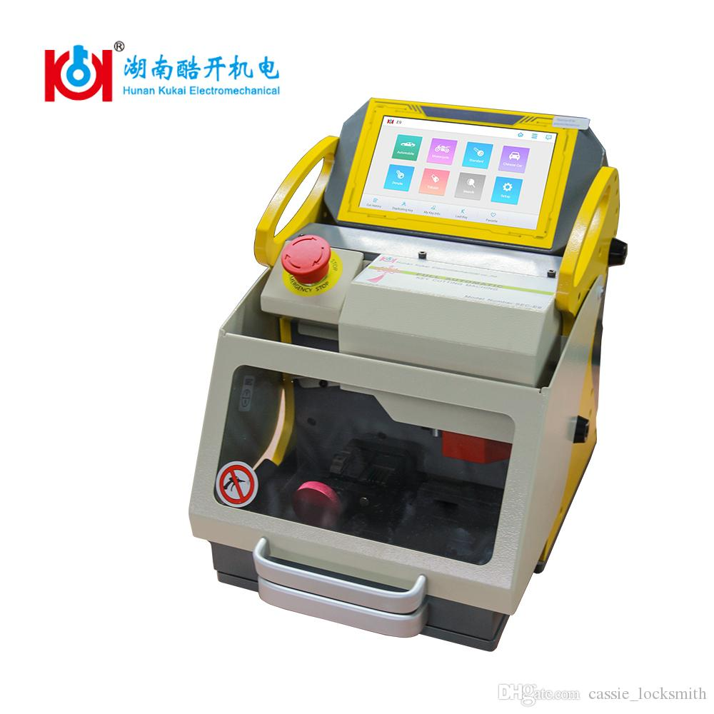Kukai CE Approved SEC-E9 Automatic Car Key Cutting Machine With Best After Service And Free Upgrade Provided 2019 New