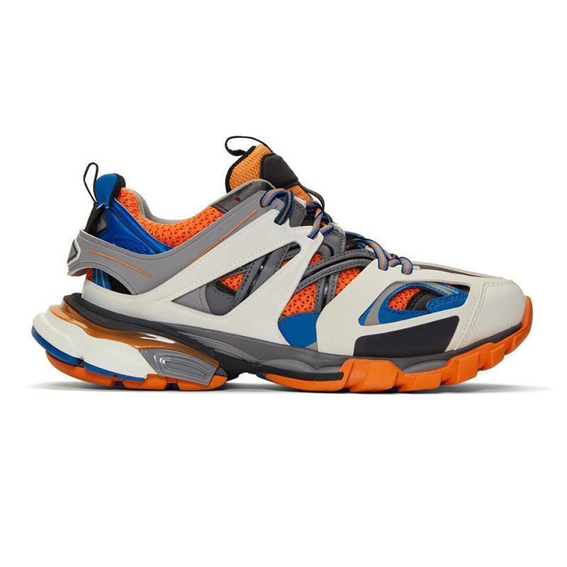 El diseñador de moda de lujo Track las zapatillas de deporte de las mujeres de triple gris calzado casual al aire libre altura altura blanca aumentar trotar c23 caminar