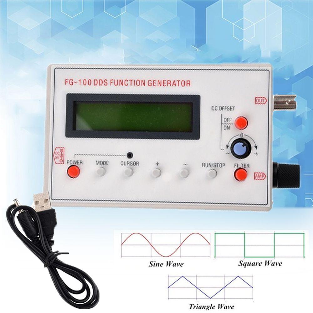 Función DDS generador de señal sinusoidal Plaza Triángulo de diente de sierra de onda de baja frecuencia