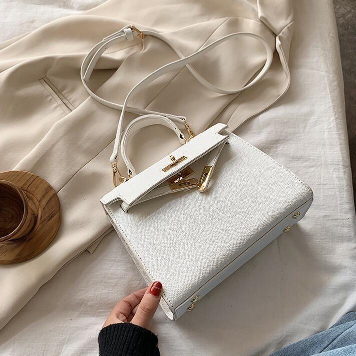 Factory wholesale women handbag high quality styling leather handbag elegant atmosphere fashion women bag street trend leather messenger bag