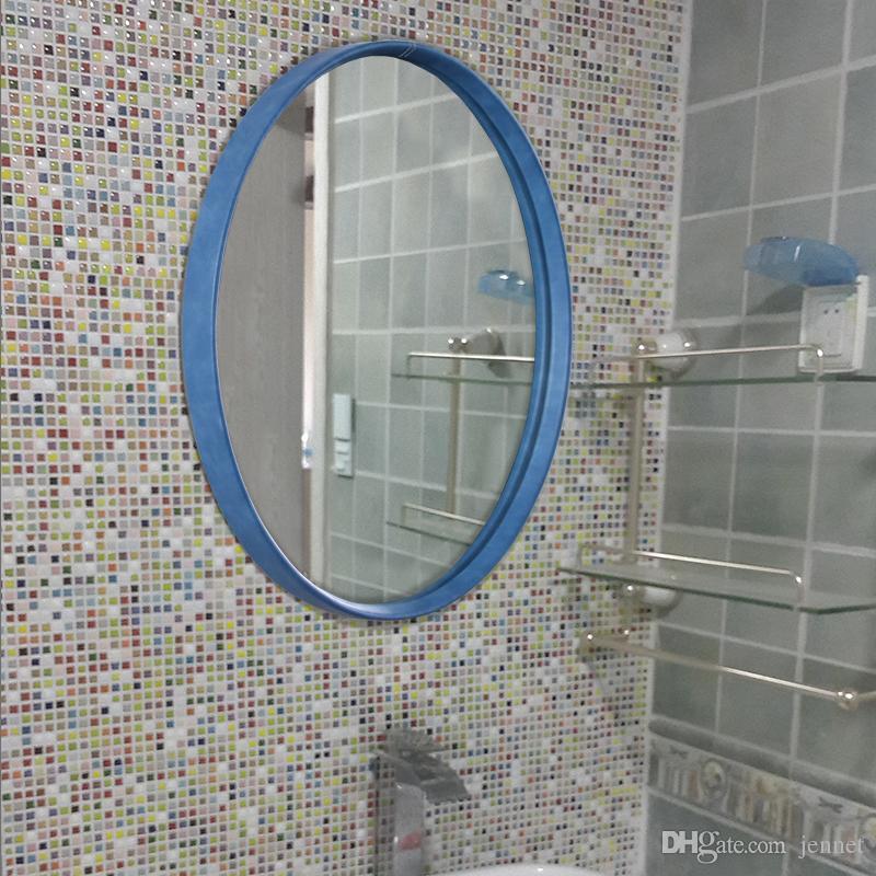 44 cm x 56 cm Nordic Minimalistischen Badezimmerspiegel Europäischen Bad Wc Make-Up Dekoration Wandbehang Spiegel haushalt becken spiegel