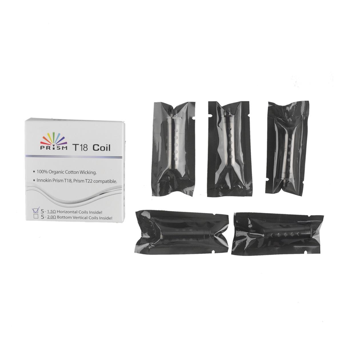 Innokin Prism T18 Coil Heads e cigarette 1.5ohm Replacement Coils For Endura Prism T18 Starter Kit Tanks 100% Original