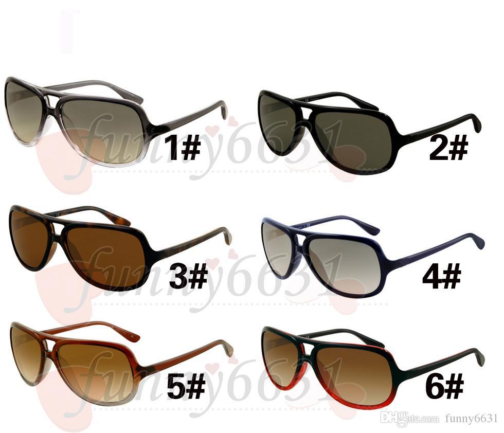 Nuovo arrivo Moda Uomo sport Occhiali da sole nero Telaio Donna Occhiali da sole Occhiali da sole Occhiali da sole di design di marca di alta qualità unisex spedizione gratuita