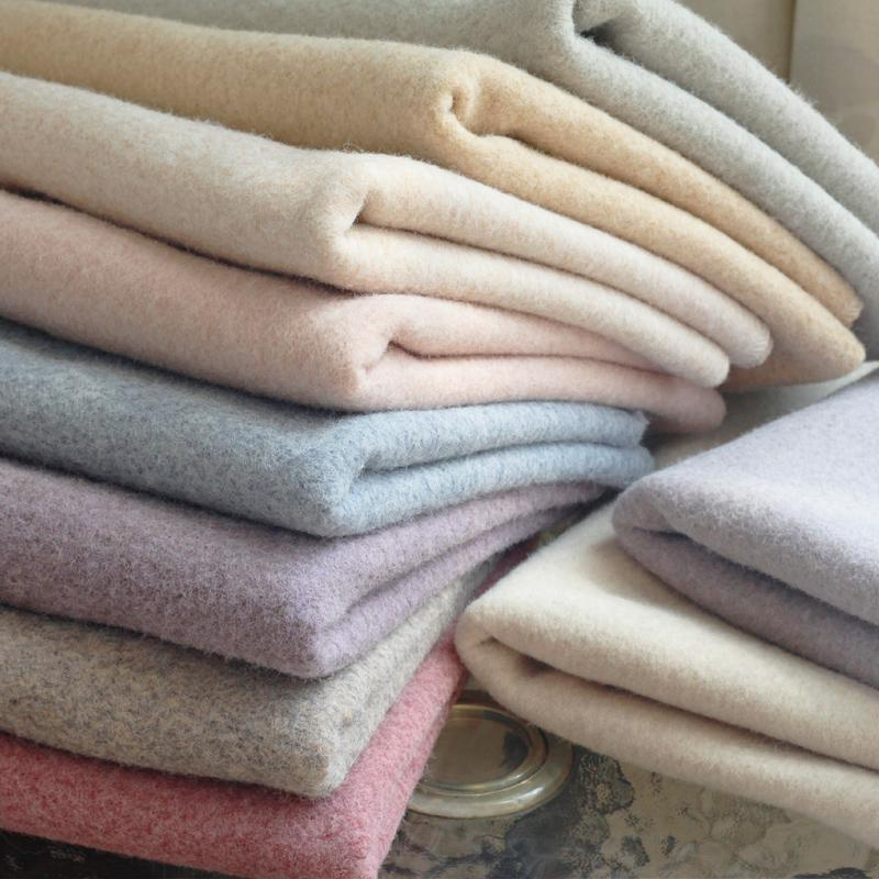 """Brushed Wool polyester blend Fabric For Coat Windbreaker curtains Material By the Half-Yard Width 61"""""""