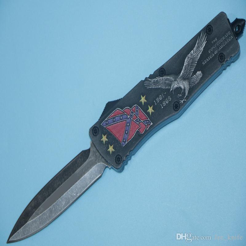HIght Tavsiye Murray Ulusal Birliği Ordu Avcılık Katlanır Pocket Knife Survival Bıçak Xmas hediye erkekler için copie 1 adet freeshipping