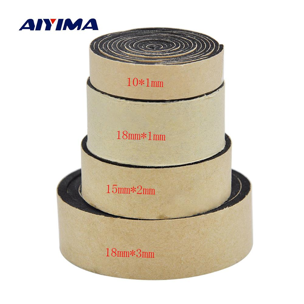 heap Speaker Accessories AIYIMA 2M Audio Active Speakers EVA Sponge Foam Single-sided Tape Speaker Repair Parts Accessories Home Theater ...