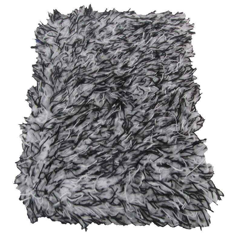 Car Soft High Density Cleaning Super Soft Car Wash Cloth Microfiber Wash Towel Sponge Block Black