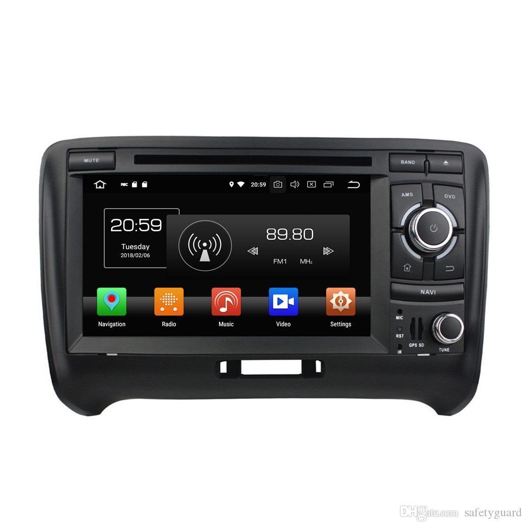 "Android 8.0 Octa Core 2 din 7"" Car DVD Radio GPS for Audi TT 2006-2013 Car Audio 4GB RAM Bluetooth 4G WIFI TV USB 32GB ROM"