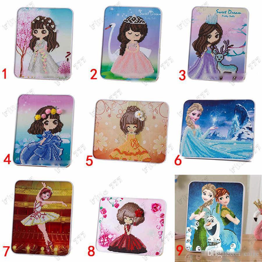Hottest Children's diamond stickers kindergarten handmade diy wooden creative puzzle primary school educational toys Gift for children
