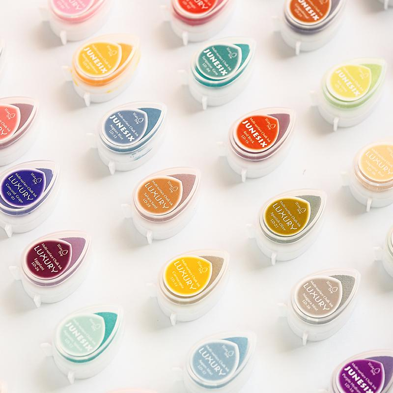 Thick Sponge Water Drop Ink Rubber Stamp Color Large Pad Ins Handbook Seal Ink Box Sponge Hand Book Material