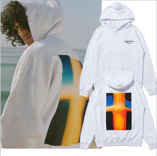 Mensentwerfer Pullover High Street ESS Pullover FG Stil Kalifornien begrenzt Foto Pullover BF paar lose Hoodies Flut