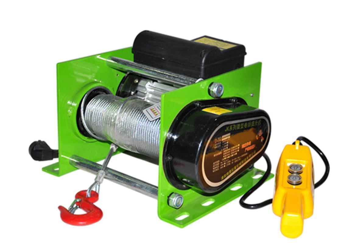 980W/1400W/2200W/ Wire rope hoist micro electric hoist electric winch 220v380v 200/600/800kg