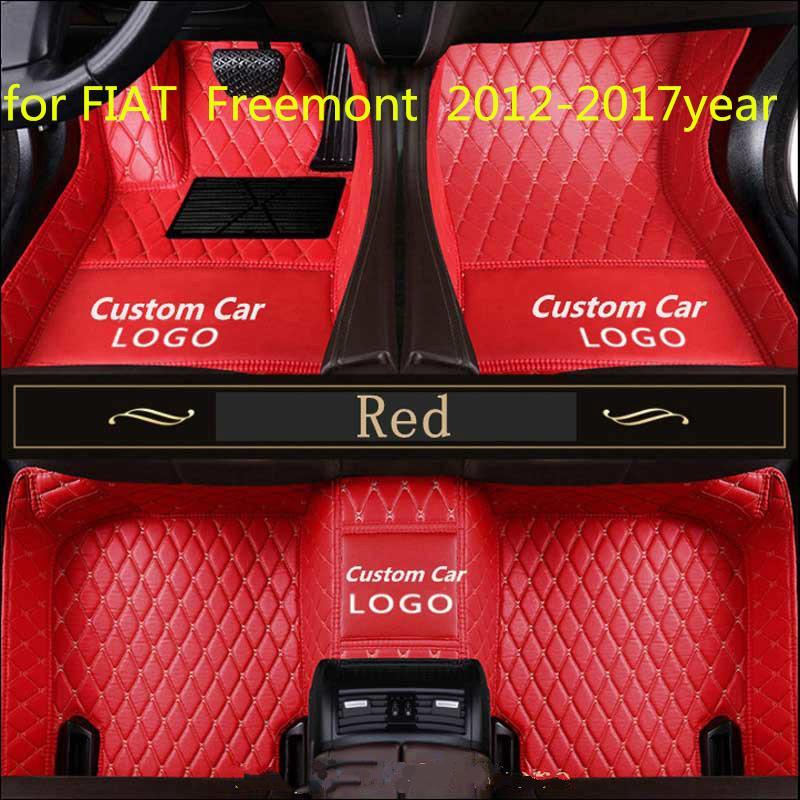 para FIAT Freemont almohadilla de la pata de la almohadilla de pie coche 2012-2017year antideslizante no tóxico