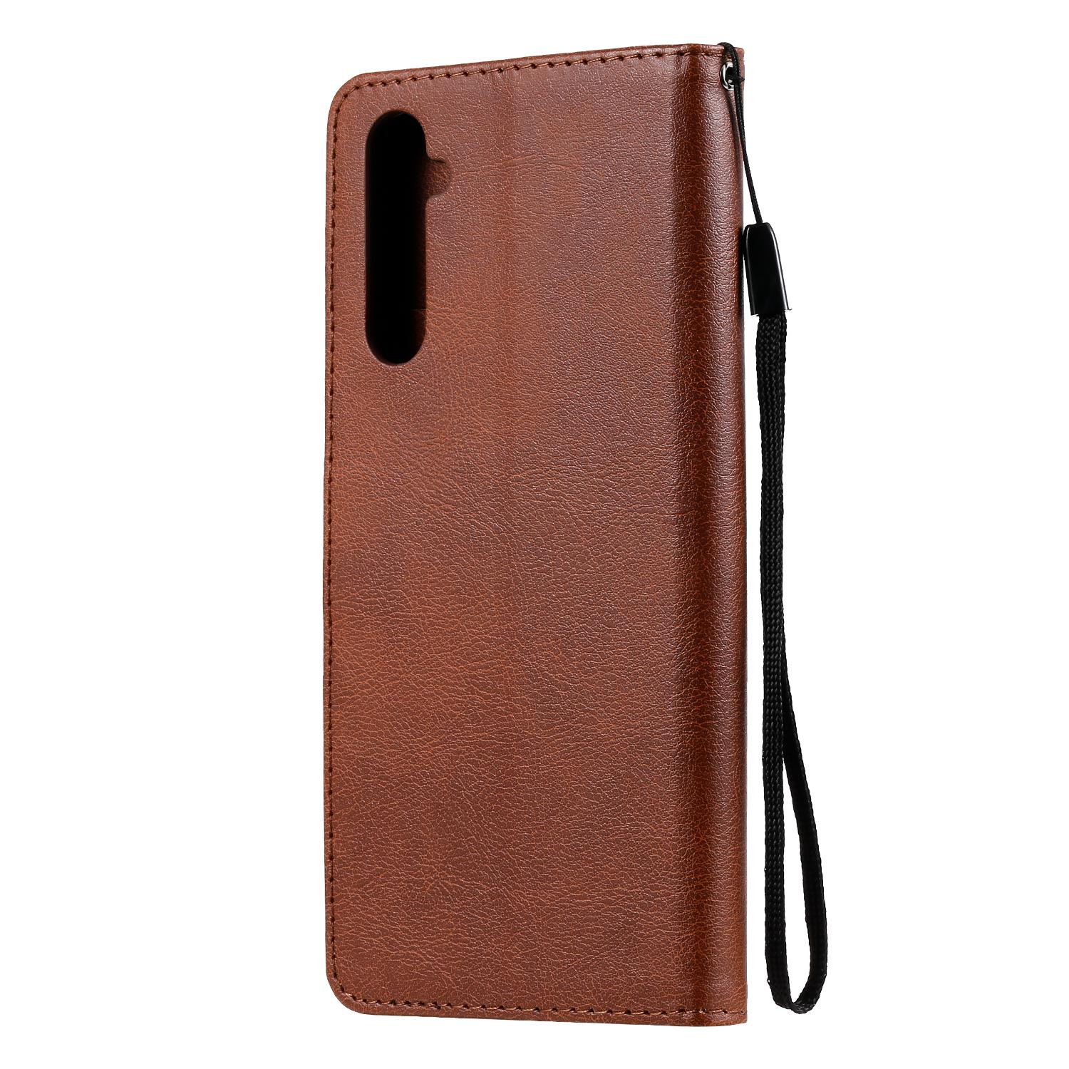 fitBAG Beat Black custom tailored sleeve for Oppo Realme 6 Pro Fine nappa leather pouch case cover with MicroFibre lining for display cleaning Made in Germany