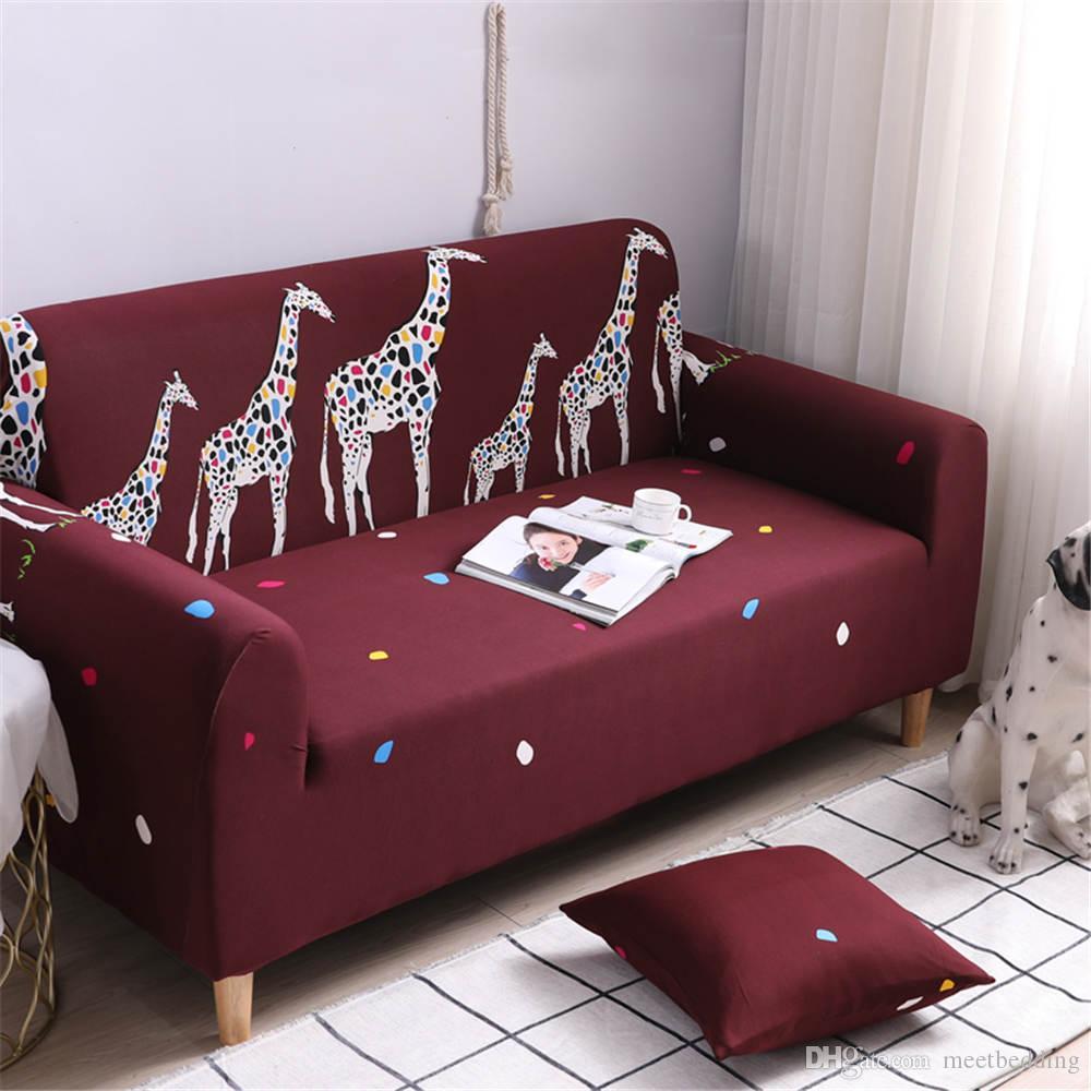 Fundas de sofá al por mayor para sofás funda de sofá de lujo funda de esquina elástica hermosa de fundas de muebles 2019 nuevo diseño