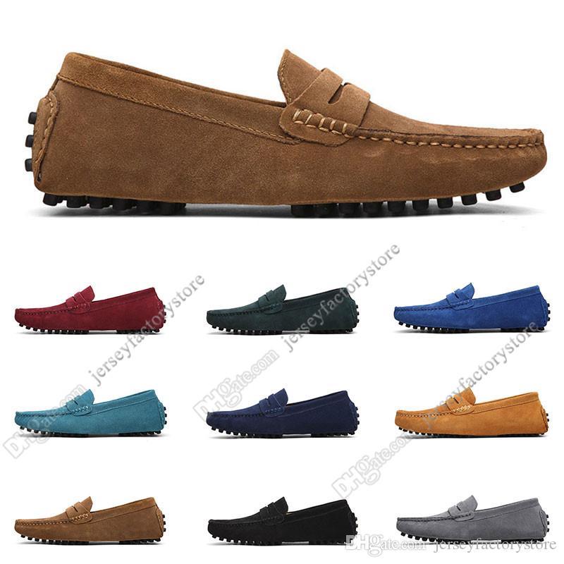2020 Grande Taille 38-49 Nouveau Cuir pour hommes Chaussures pour hommes Croweshoes Chaussures Casual britanniques Livraison Gratuite Soixante-cinq
