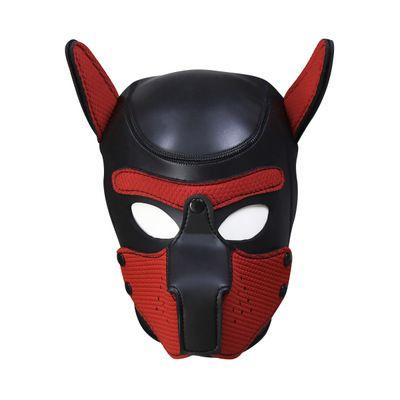 BDSM Sex Toys Leather Head Harness With Muzzle Leather Muzzle Bondage Restraint Gear Adult Sex Product Z998