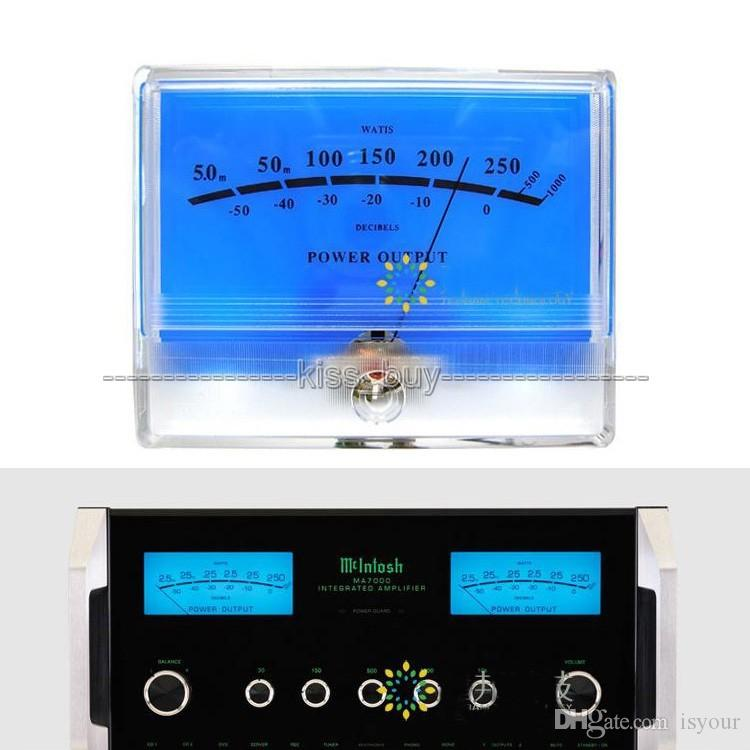 Freeshipping 1 قطع × vu متر رأس ديسيبل مستوى الصوت مضخم الطاقة مؤشر متر ديسيبل الجدول e