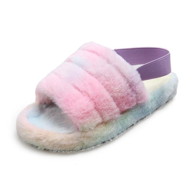 Yaz Gladyatör Kadınlar Terlik Platformu Düz Peep Toe Kristal Kanatlar 2020 Moda Roma Parti Kadın Bayan Ayakkabıları Zapatos De Mujer R10 # 702