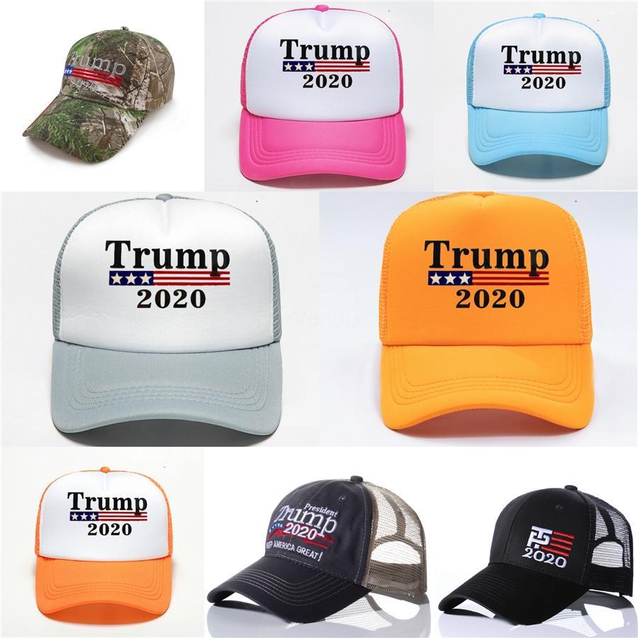 Protezioni del cappello di baseball Usa Flag Cap Cotton 45 Presidente Donald Trump Supporto Berretto da baseball Snapback Caps unisex sfera regolabile Gga3363 # 336