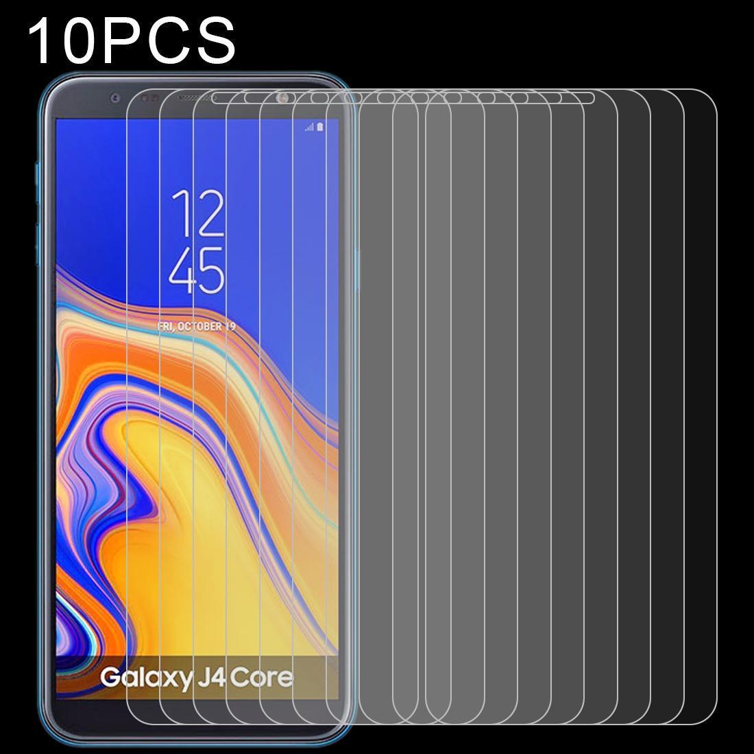 10 PCS de 9H 2.5D-déflagrant Film en verre trempé pour Galaxy J4 de base