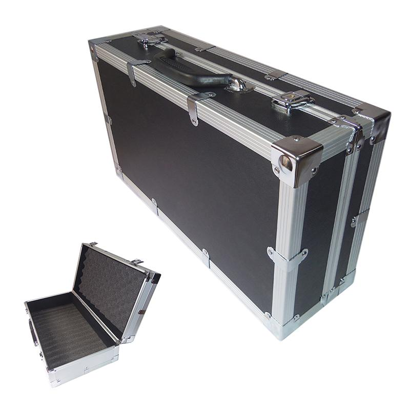 515x285x150mm Aluminum Tool Case Suitcase Toolbox File Box Impact Resistant Safety Case Equipment Camera with Foam