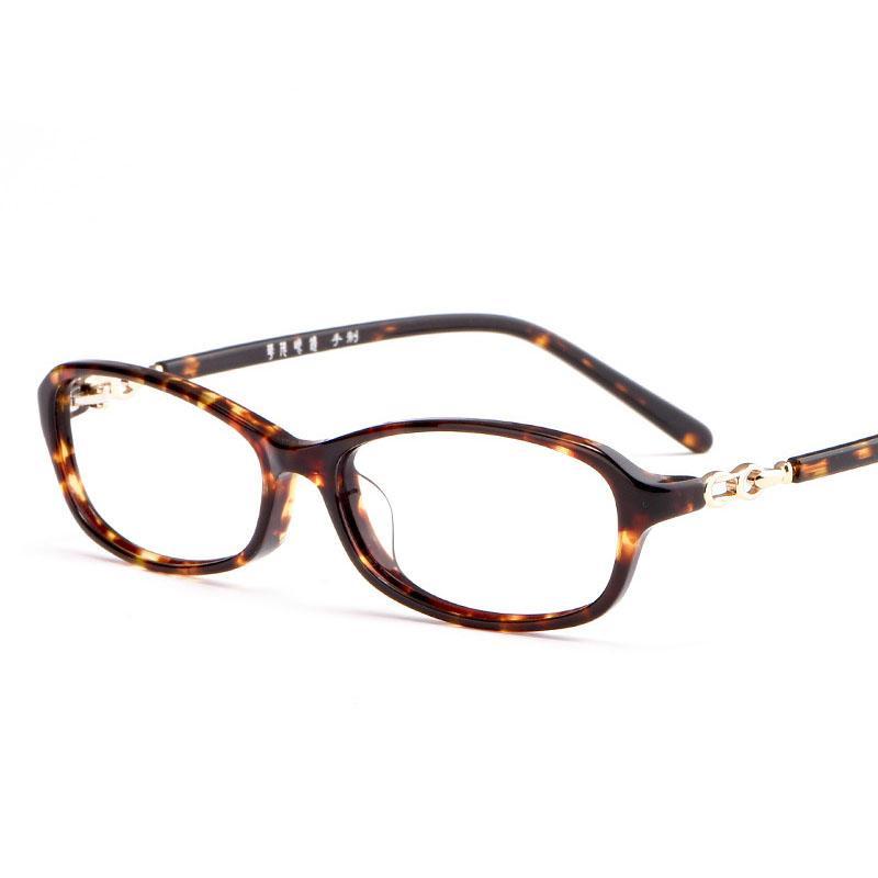 Уксусная кислота очки кадр фотохромные линзы Женщины солнцезащитные очки Близорукость чтения очки