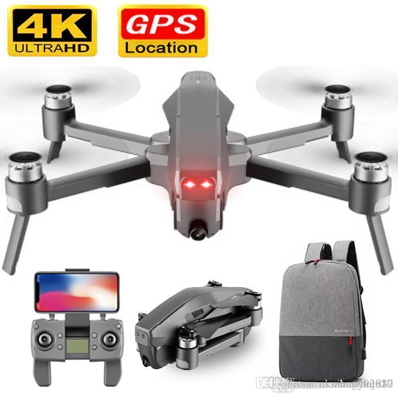 D4 Drone GPS Quadrotor HD 4K 1080P FPV 600M WIFI controle 1.6km de vídeo ao vivo distância de fuga 30 minutos zangão com câmera Dron Toy