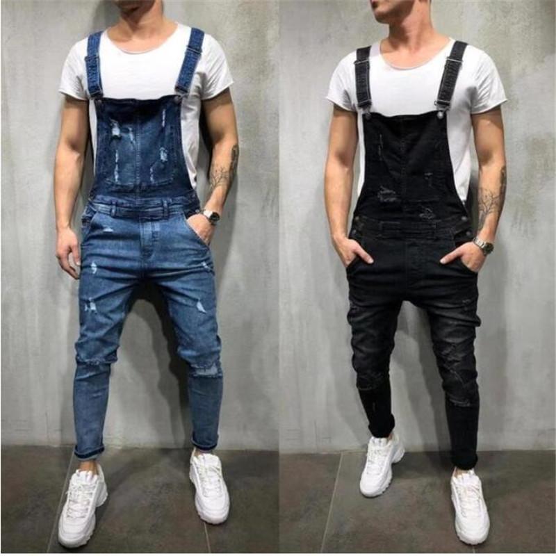 Neue Männer Art und Weise beiläufige Straßen-Art-Hosen der Männer Loch-lose Einzigartige Strumpfhose Qualitäts-heißen Verkauf-weiche Jeans-Hosen-freies Verschiffen