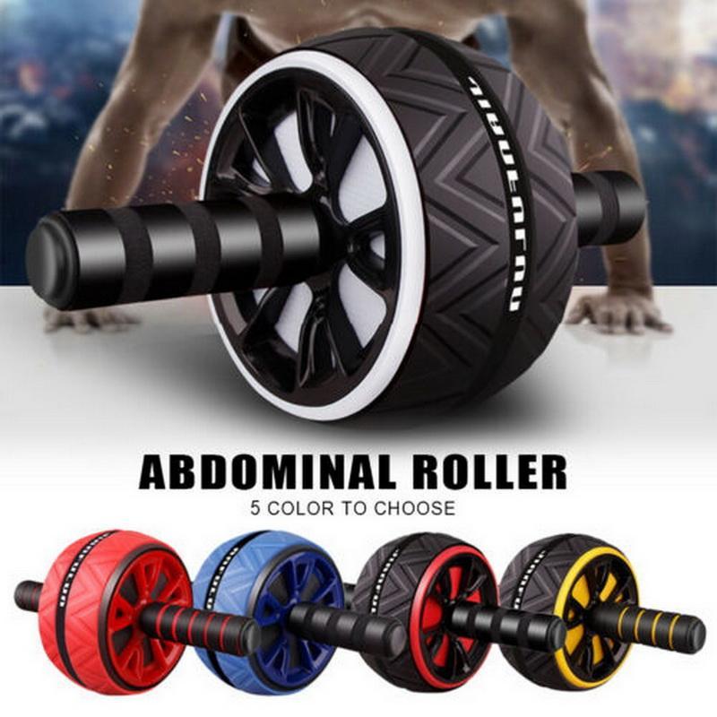 Ab Roller Колесо тренер брюшной мышцы для Фитнес Abs Основные тренировки мышц брюшного пресса Training Home Gym Fitness Equipments
