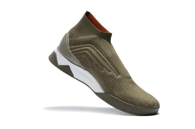 Colores zapatos nuevos Predator Tango 18 + TR Zapatos de la zapatilla Calle Negro Blanco de oliva de alta calidad al por mayor Deportes FG fútbol calzan tamaño de los EEUU 6-11 09