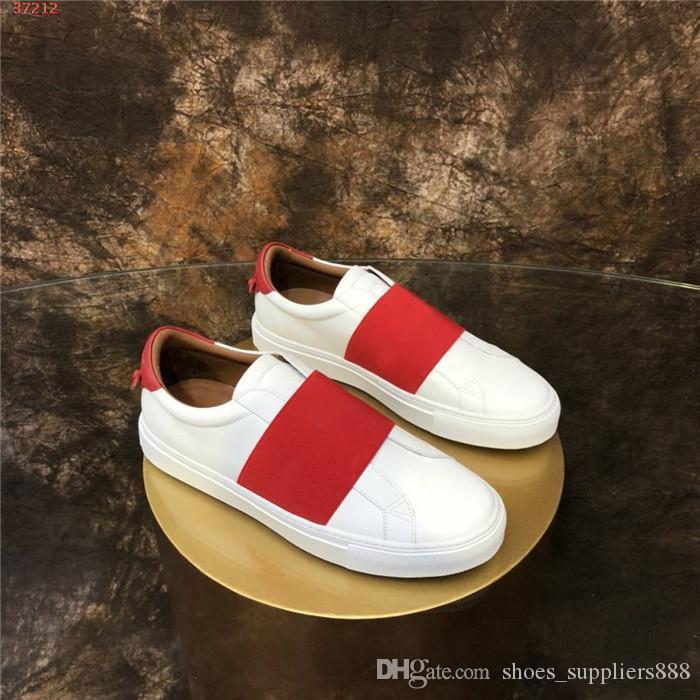Hombre y para mujer Clásico calzado deportivo casual. colección 2020 de cuero zapatillas blancas zapatos con caja original funcionando