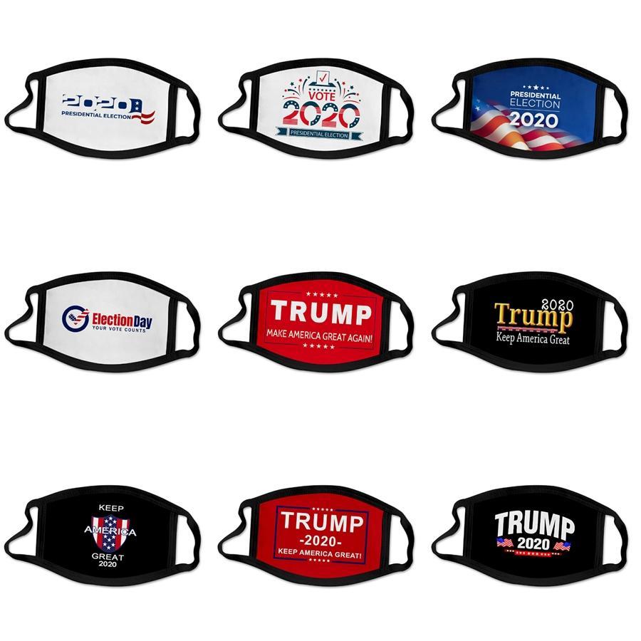 Frete grátis filhos de lavável Máscara padrão PM2.5 máscara protetora bonito respirável Inserir Designer Máscara Trump Faces Máscaras # 127