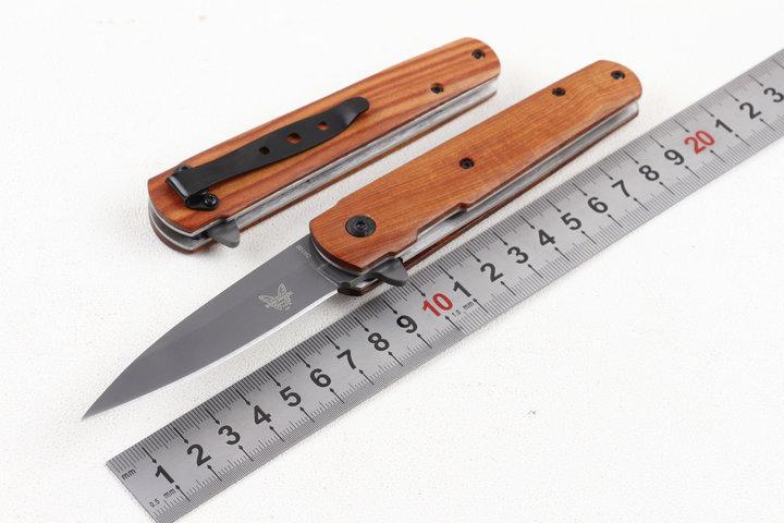 Benchmade DA100 faca de aço inoxidável manual de Lançamento Mini bolso faca dobrável Linha Locker bolso cortador 1pcs campismo faca