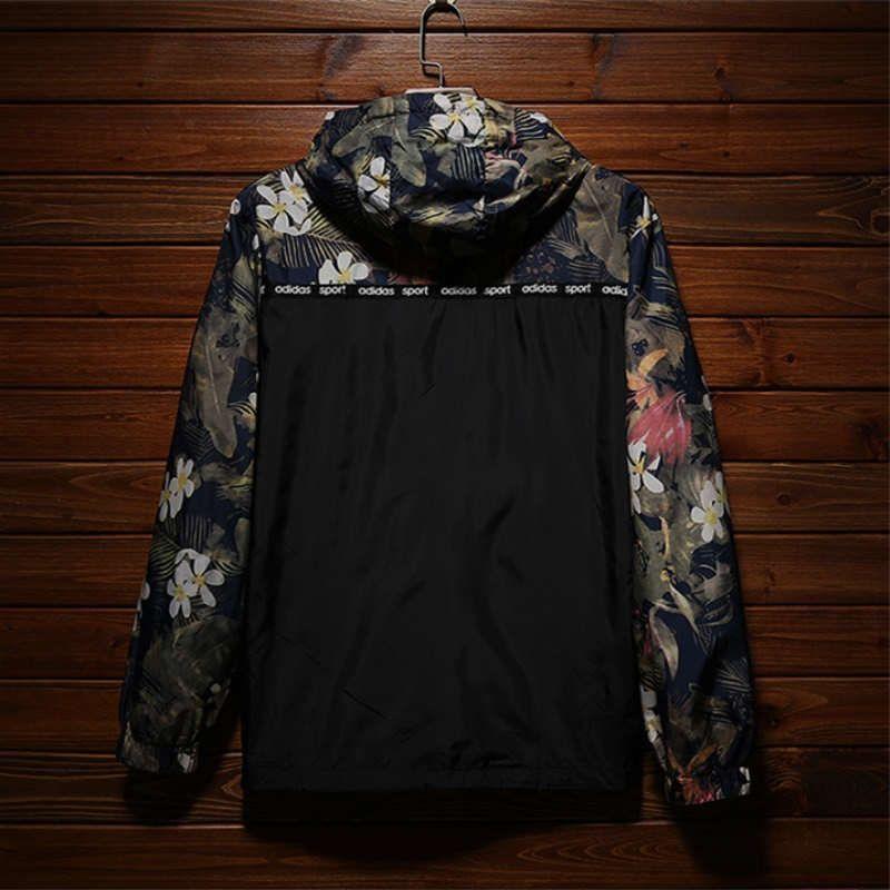 Diseñador de la marca Chaquetas para hombre Otoño Abrigo de protección solar Cazadoras finas de alta calidad Chaqueta de camuflaje deportiva al aire libre Streetwear 00