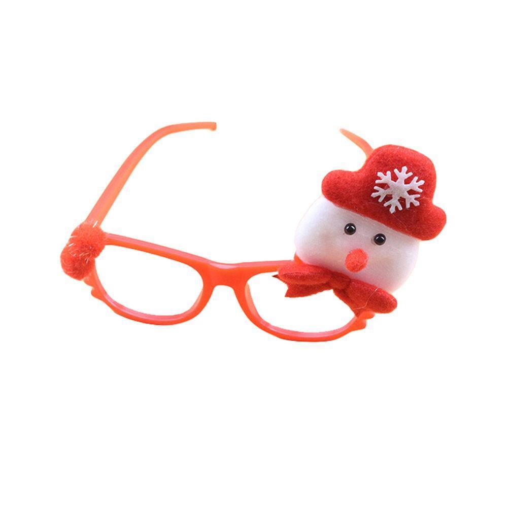 Ornamento Óculos de Natal dos miúdos Papai Noel cervos Boneco Festival Xmas dos desenhos animados do partido DIY Suprimentos Presentes para Crianças 2019 Natal