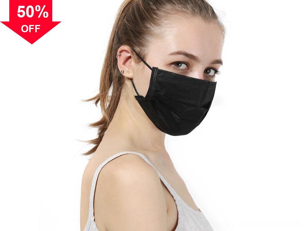 CRMnb Boca 3 Camada Máscaras luxo designer descartáveis adulto respirável Poeira Facial Máscara Em armazém frete grátis por DHL ma