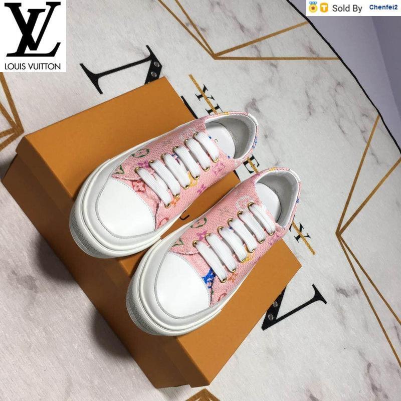 Chenfei2 V105 2.113.210 Flut wilde beiläufige Turnschuhe Kleid Schuhe Skate Tanz Ballerinas Loafers Espadrilles Wedges