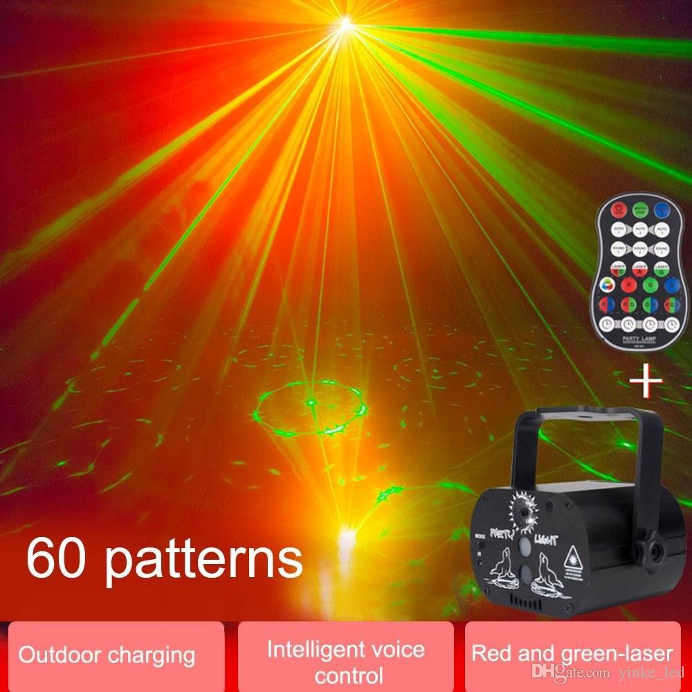 LED scène Par lumière Auto Sound Activated Effets lumières stroboscopiques Lampe RGB éclairage pour Home Party KTV DJ Disco Club de Noël de mariage anniversaire