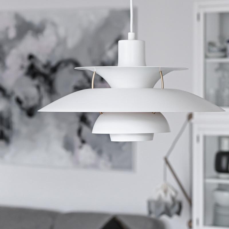 룸 주도 펜던트 램프 LED Lamparas 조명기구 식사 Scandinavialamp E27 주도 펜던트 LightDenmark 루이스 폴센 PH5 펜던트 램프