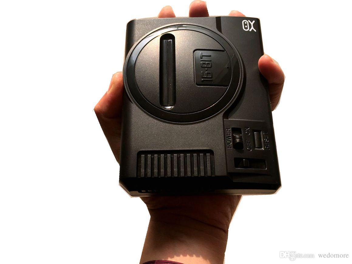 16 Bit Mini Retro Sega game Console video Handheld for SEGA games with retail boxs