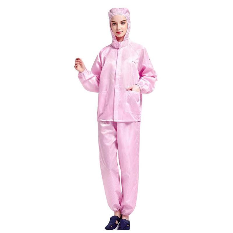 Impermeabile a prova di polvere Tuta riutilizzabile protezione Prevenire goccioline isolamento Abbigliamento Hazmat Suit Tuta Indumento protettivo Unisex In magazzino