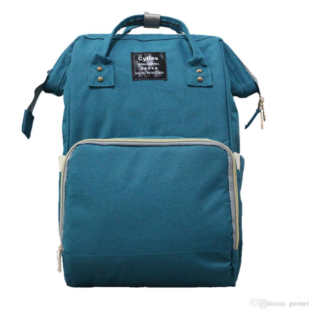 Дизайнер-женщины большой емкости мама рюкзаки Оксфорд материнские и детские сумки мода пеленки женские сумки bolsa feminina