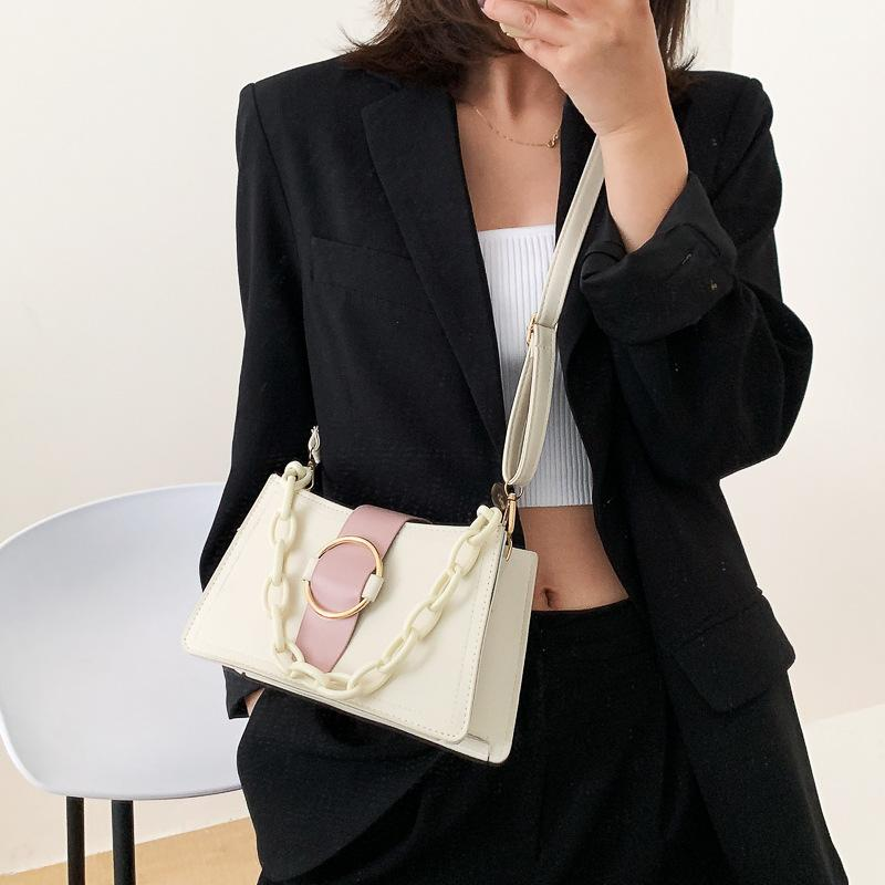 Borsa Nuova catena delle donne 2020 delle donne Shoulder Bag Messenger singole borsa di moda estate ascellare Metodo Stick