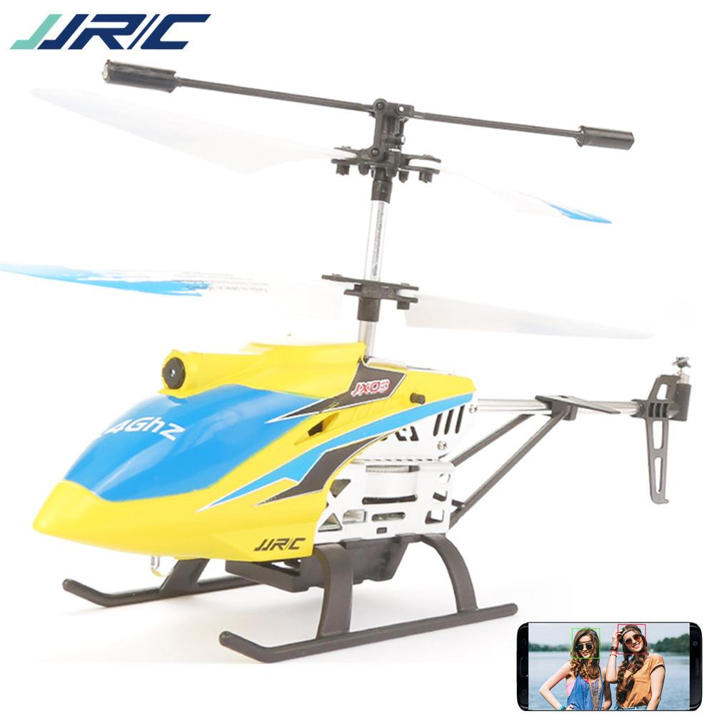 JJRC JX03 Remote Control Helicopter Toy, 2.4G Wifi HD Camera UAV, Fixed Height Real Time Image Transmission, Alloy Drone,Kid' Birthday Gift