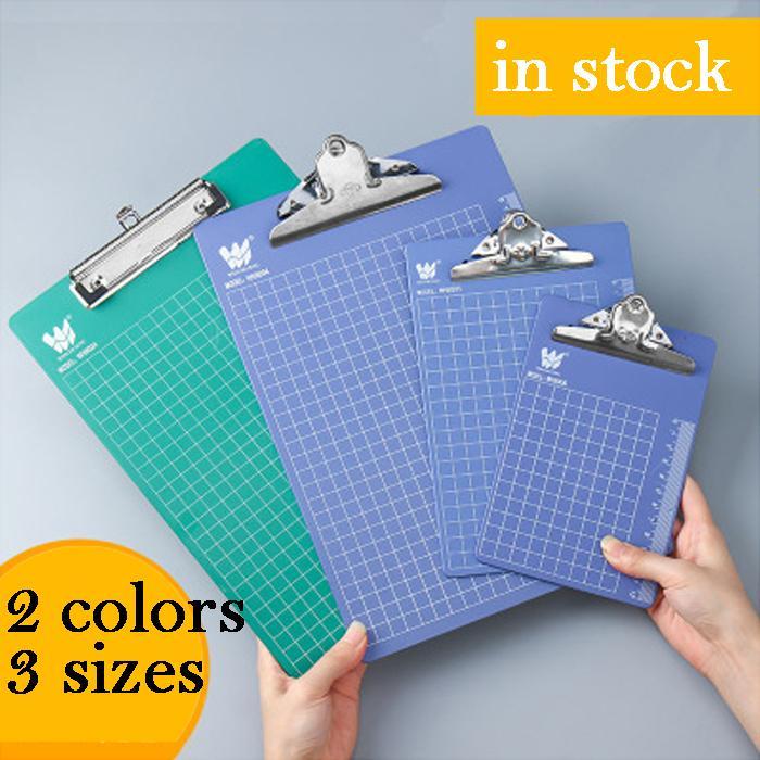 cetvel ölçek A4 A5 A6 plastik kağıt klasörüne ile ücretsiz gönderim A4 plastik tabak tutucu ataş yazma alt plaka tutucu blokluklar