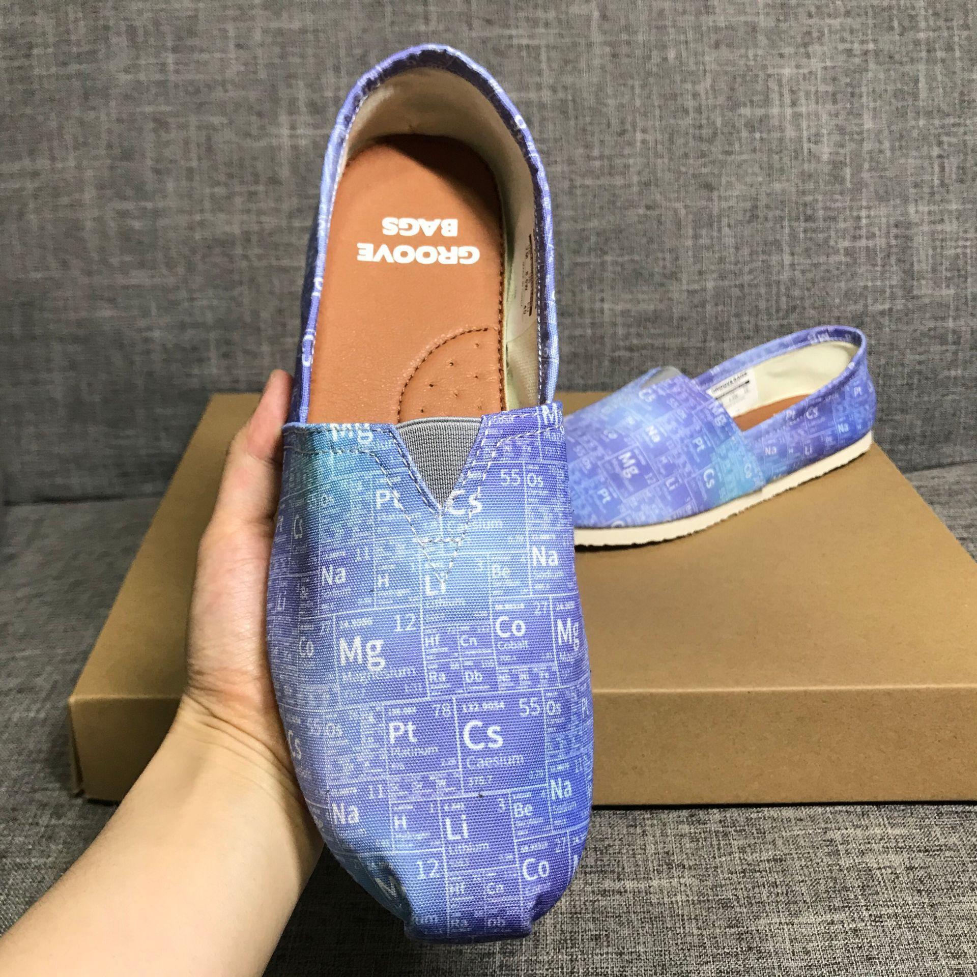 Glissement plat féminin sur la plate-forme de chaussures Espadrilles dame brodé confortables chaussures de sport baskets Mocassins Pêcheur Zapatos