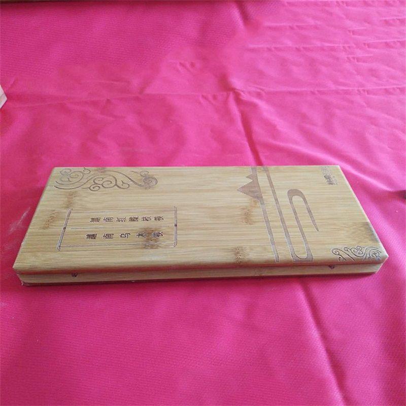 Fünf Paare Essstäbchen Eintritt Anti Wear Verpackung Woodiness Originalität Box Carving chinesischen Stil Exquisite Factory Direct Selling 16qh P1