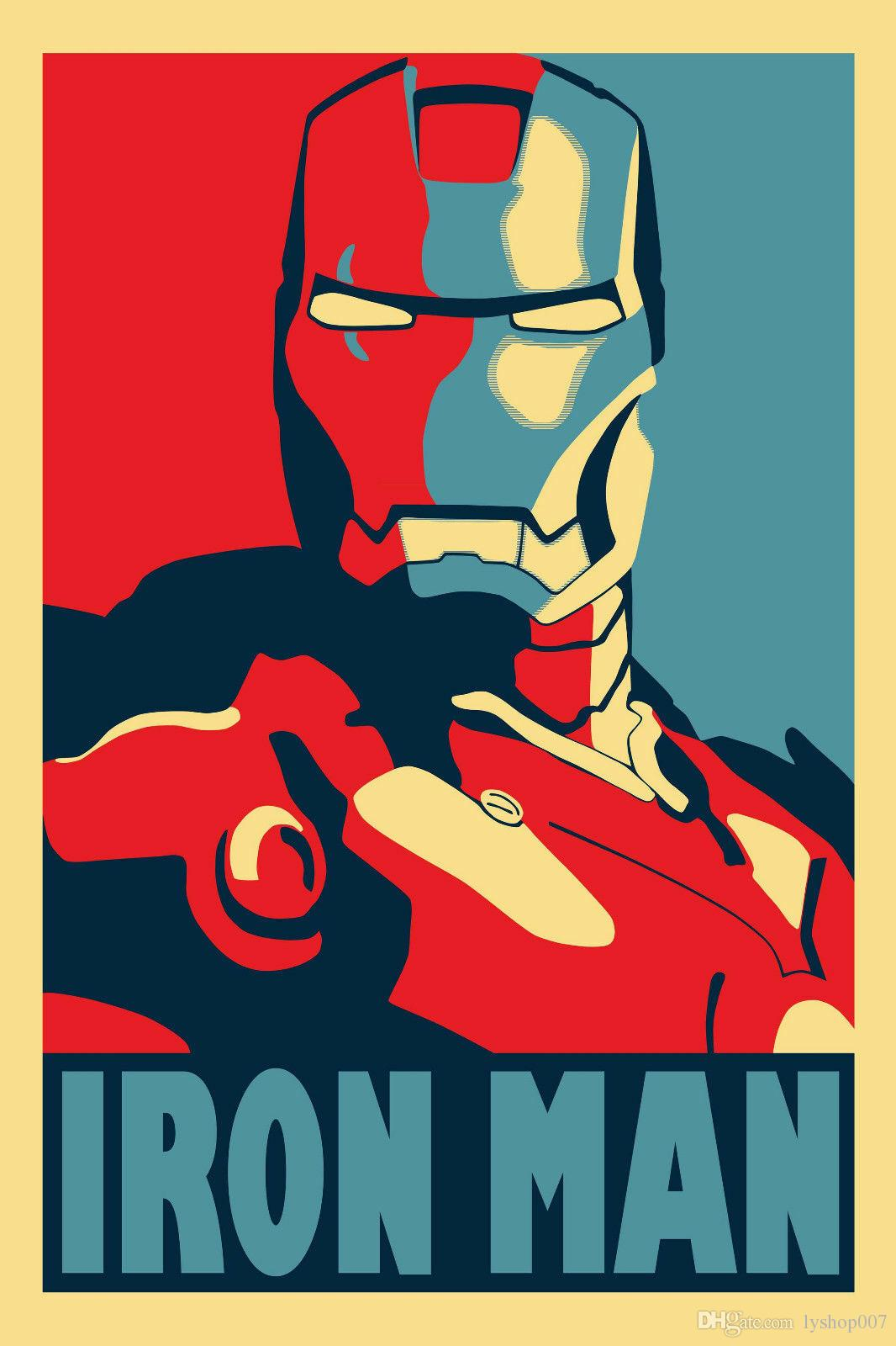 2019 Iron Man Movie Wall Decor Art Silk Print Poster 888 From Lyshop007 Price Dhgate Com