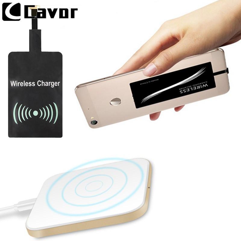 Cargador inalámbrico Qi Power Pad para Huawei Y6 2018 Y9 Y 6 9 2019 Estuche Accesorio móvil Poder inalámbrico Receptor de carga con cable